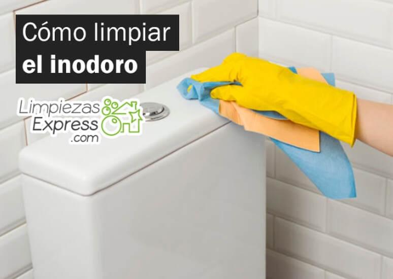 Limpiar bien inodoro