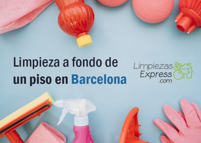 Limpieza piso barcelona