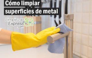limpiar metal