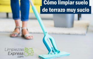 limpiar suelo de terrazo