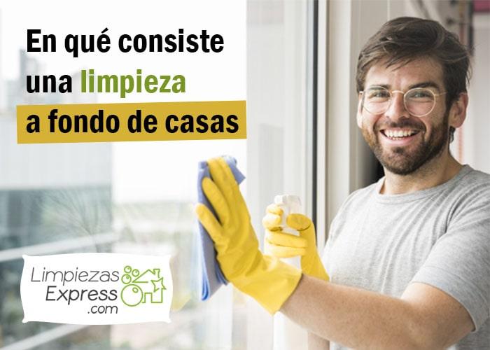 limpieza a fondo de casa