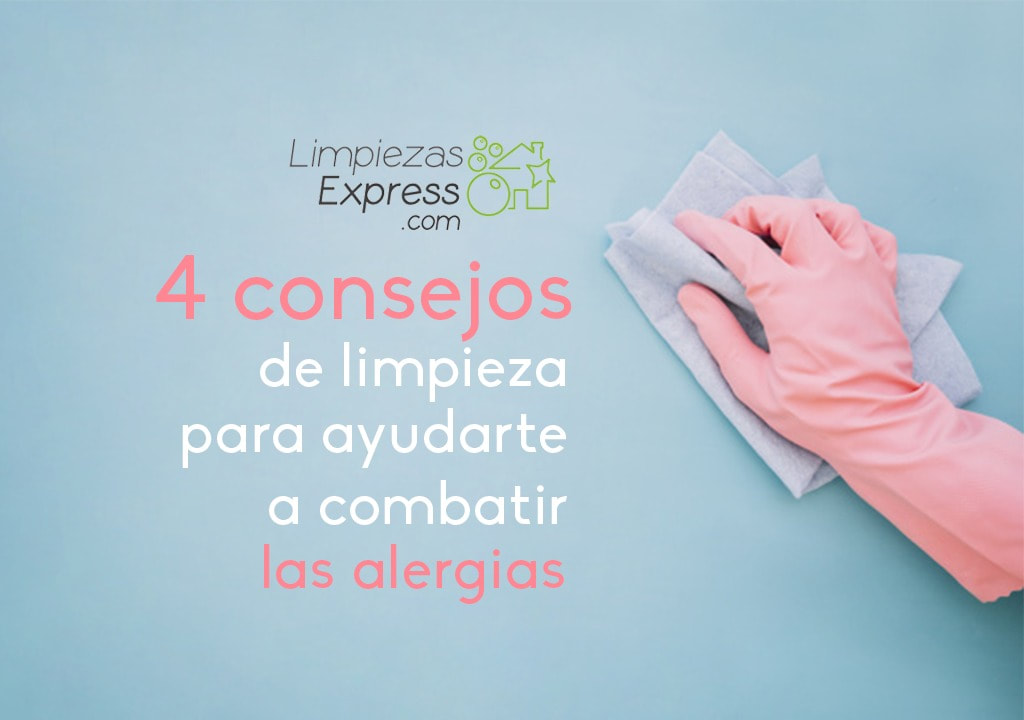 limpieza para alergias