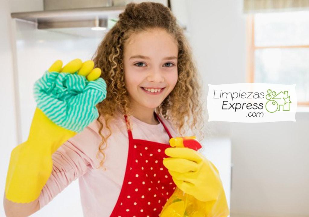 limpieza para niños