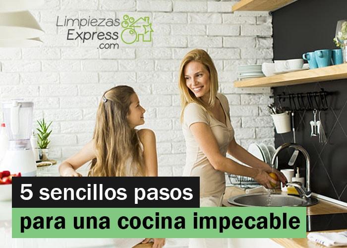 trucos para cocina impecable